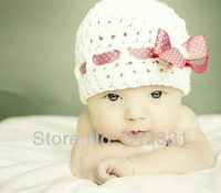 Free shipping new style baby hat handmade crochet photography props newborn baby cap