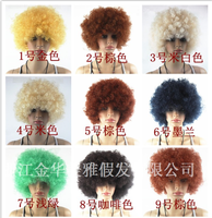 Fans wig explosion bulkness performance props cosmetic clown