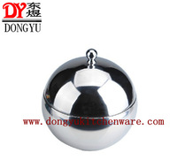 Factory WholesaleDY-B044 2013 New Design Stainless Steel Insulated Ice Bucket Ball Shape Style Ice Bucket Export Bucket