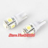 Wholesale T10 Car 5 LED 5050 SMD Wedge Side Light Bulb Lamp 12V W5W 194 168 501
