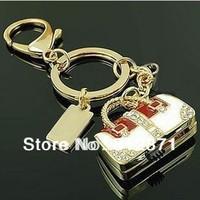 Free shipping 2GB 4GB 8GB 16GB 32GB 64GB genuine  keychain metal handbag shape usb flash drive pen drive memory stick