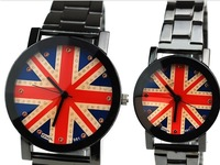 South Korea fashion lovers big dial in England markup characters a couple watches
