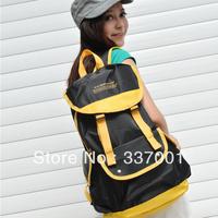 2013 new wave of high school students backpack schoolbag Korean women summer institute wind bag nylon laptop bag