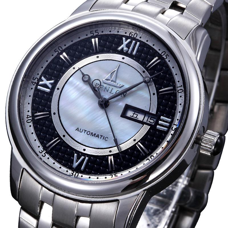Fully-automatic mechanical watch cutout male mechanical watch automatic mechanical male table(China (Mainland))