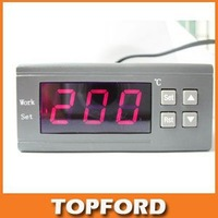 Willhi WH7016D Electronic Digital Thermostat Temperature Controller, DC 24V 0~300 Degrees Apply to the oven #BV009
