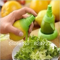 (Min Order is $10) 5pcs/lot Lemon Juice Sprayer Citrus Spray Hand Juicer Mini Squeezer Kitchen Tools Set Free Shipping