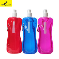 Bicycle water bag hiking sports portable folding water bag water bottle kettle