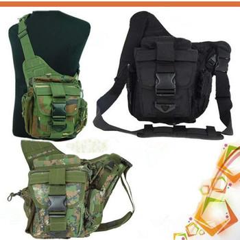 Molle Tactical Utility Shoulder Backpack Bag SLR Camera Bag Pouch Rucksacks