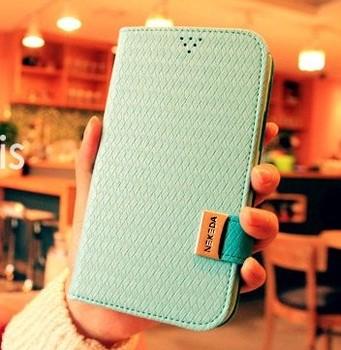 Nekeda i9500 s4 flip leather case i9300 mobile phone case s3 mobile phone case protective case