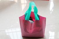 35*25*5cm Pink xmas gift packaging Fashion packaging Shoppingbag bag printing