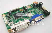 B.NTA92C VGA+DVI+AUDIO LCD Controller Board Kit/Driver Board Kit, support Single/Dual LVDS, excellent display quality