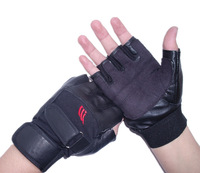 Sheepskin genuine leather gloves semi-finger male summer sunscreen outdoor tactical gloves fitness ride
