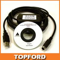 Allen Bradley Micrologix Cable USB 1761-CBL-PM02, AB PLC 1000/1200/1500 Series PLC programming Round 8-pin cable #BV023