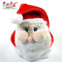 Christmas decoration christmas cap christmas hat a30 cap plush christmas hat  santa claus