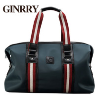 Ginrry waterproof oxford fabric male portable travel bag travel bag large capacity casual man bag g3129
