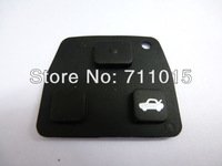Best Price with 10 pcs per lot 3 button remote key case pad for Lexus