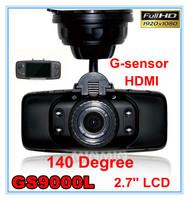 GS9000L Car DVR Full HD1920*1080P/30fps 140 degrees wide Angle 2.7inch LCD G-Sensor