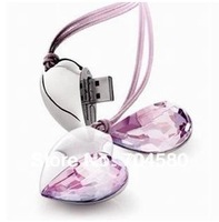 Free shipping 2GB 4GB 8GB 16GB 32GB 64GB Genuine Capacity USB Flash Drive, Heart Pen Driver, Gift USB Flash Disk, Jewelry USB
