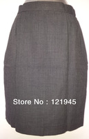 Free shipping brand women clohting skirts autumn winter women wool straight skirts formal skirt