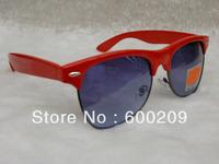 2013 new Free shipping Best quality Brand sunglass men's/women's Fashion R30160 Black sunglass Green lens 50mm with box