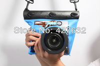 Promotion!!WB3 DSLR Camera  Waterproof PVC Bag Case Underwater Pouch 17.5*7.8*10CM,Free shipping, Retail &Wholesale