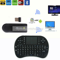 Wholesale MK809 II TV Stick  Android 4.2 Mini PC HDMI Dual Core 2GB RAM 8GB Bluetooth + 2.4G keyboard Fly air mouse RC13