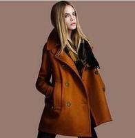 2014 winter coat women Wholesale & Retail Women's wool Coat With Good Quality Plus Size XXL women's long wool winter coats C1080