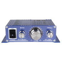 12V DC Mini Hi Fi Music Audio Stereo Amplifier for Cars Motorcycle Boat Home MP3 CD Usage