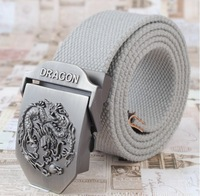 Fashion Canvas Premium figure Metal Mens strap man Ceinture Buckle Belt men's belt Free shipping Army military girdle D-138