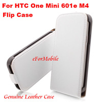 Genuine Leather Case Flip Cover Mobile Phone Case Cell Phone Case For HTC One Mini 601e M4