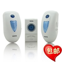 Free Shipping ! Wireless music doorbell plug household flash doorbell