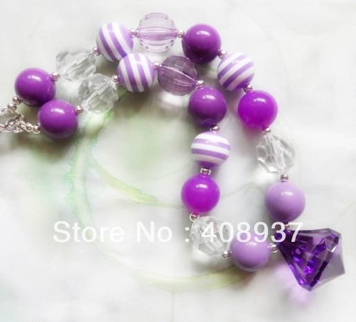 Цепочка с подвеской Kid chunky necklace 2 /diy Chunky bead necklace цепочка с подвеской charm necklace 20pcs lot bff wholesale