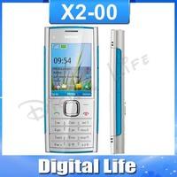 X2 Original Nokia X2-00 Bluetooth FM JAVA 5MP Unlocked Mobile Phone