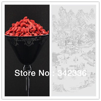 200g Chinese Dried Fruit Ningxia Wolfberry, Skin Care Anti Aging Bulk Goji Berries, Health Care Lycium Snack Food, Flower Tea