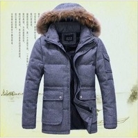 2013 winter warm wool down jacket,plus size thickening military jacket,-20 degrees warm down coat,brand outdoor wear clothing