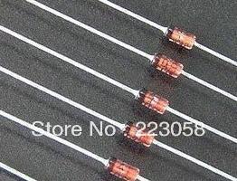 Free shipping 50pcs,1N914 TFK Germanium Diodes Genuine NOS Tested Fuzz Pedal Mods(China (Mainland))