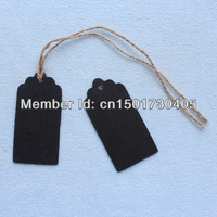 Free Shipping 100 x Mini Wooden Blackboard / Chalkboard bomboniere Gift Tag table number For Wedding Party Decoration