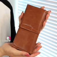 2013 Women Vintage Wallets  Long PU Leather Good Quality Ladies Purse Multi-Color Fashion Clutch YT160