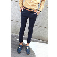 Autumn male trousers exquisite red grommet male skinny pants harem pants 1601f199p50