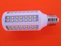100V-130V/AC White/Warm white LED Bulb lamp E27 B22 E14 12W  3528 LED bulb 1200LM corn light bulb free shipping  High brightness