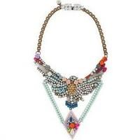 high quality 2014 design fashion Eagle shourouk choker necklace length 48cm