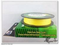 multifilament fishing line Floadting Line.Hot sale New arrival.100yads Braided Fishing Line 8lb-------- 80LB Yellow.