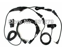Sample New Black 3.5mm PTT VOX Adjustable Volume Throat Vibration MIC for YAESU VX-5R/2R/3R/5R/160 FT TSP C0228A