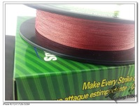 multifilament fishing line Floadting Line.Hot sale New arrival.100yads Braided Fishing Line 8lb-------- 80LB , RED.