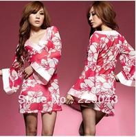 Free shipping! 2013 new fashional Sexy Women's Japanese Kimono Lingerie Sleepwear