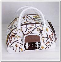 2013 EMS Free Shipping Trendy dog handbag fashionable pet bag wholesale Tote