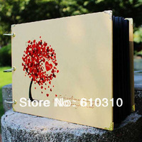 free ship 10 inch DIY loving tree PHOTO ALBUM Scrapbook Paper Crafts baby picture photograph holder include 30 sheet inner card