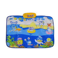 Ocean animal music blanket baby climb a pad baby game blanket infant fitness puzzle creepiness blanket