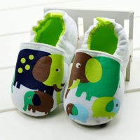 CL0172 New Arrival quality Baby Shoes, Cartoon Elephant Unisex Soft Sole Skidproof Non-slip Kids Shoes, 2 Size