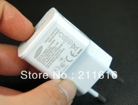 Free Shipping Wholesale 5V 2A USB Ports EU Plug Home  Power Charger Adapter For Samsung Galaxy S4 S3 iphone 4S 5 ipad 2/3CA0-22